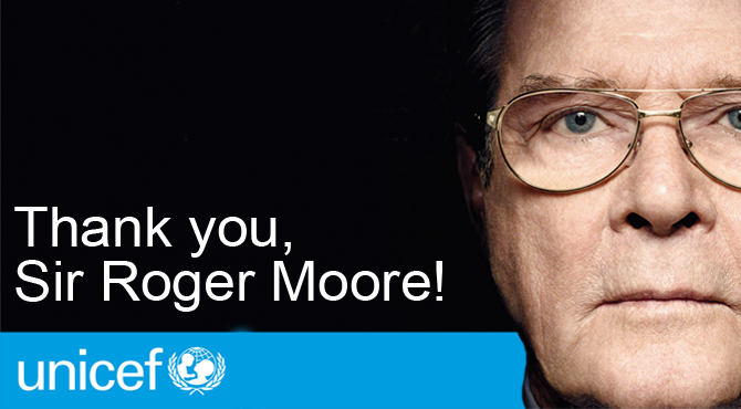UNICEF – Sir Roger Moore
