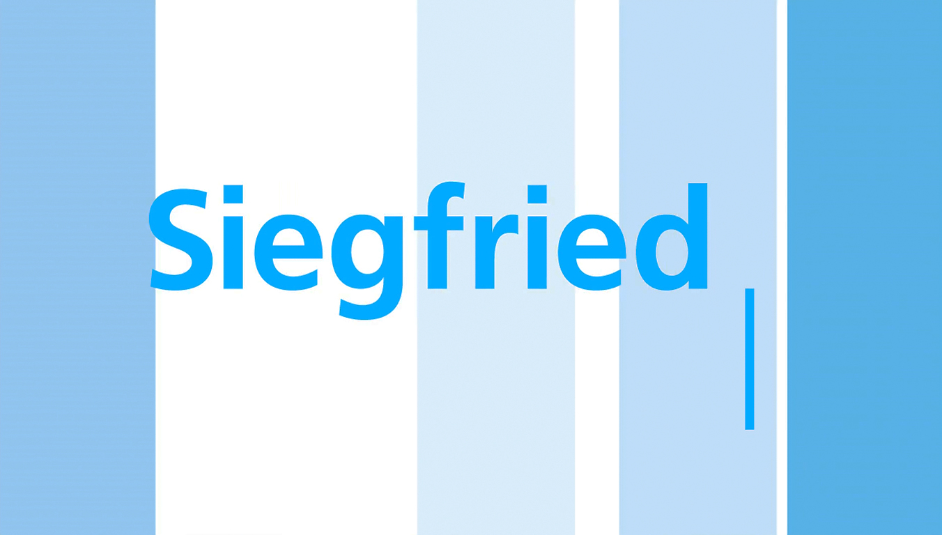 SIEGFRIED Annual Report by CEO Rudolf Hanko